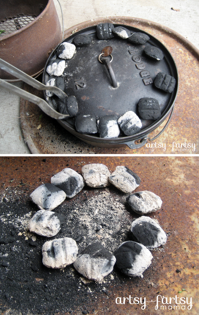 Dutch Oven Beef & Biscuits