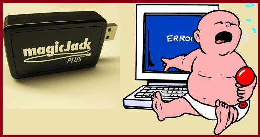 MagicJack Error and Problems