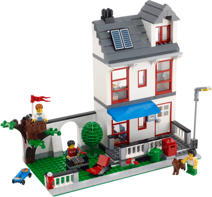 Steve 39 s lego blog the classic lego house for Modele maison lego