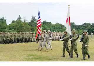 North Korea Threat: US, Japanese troops prepare for war