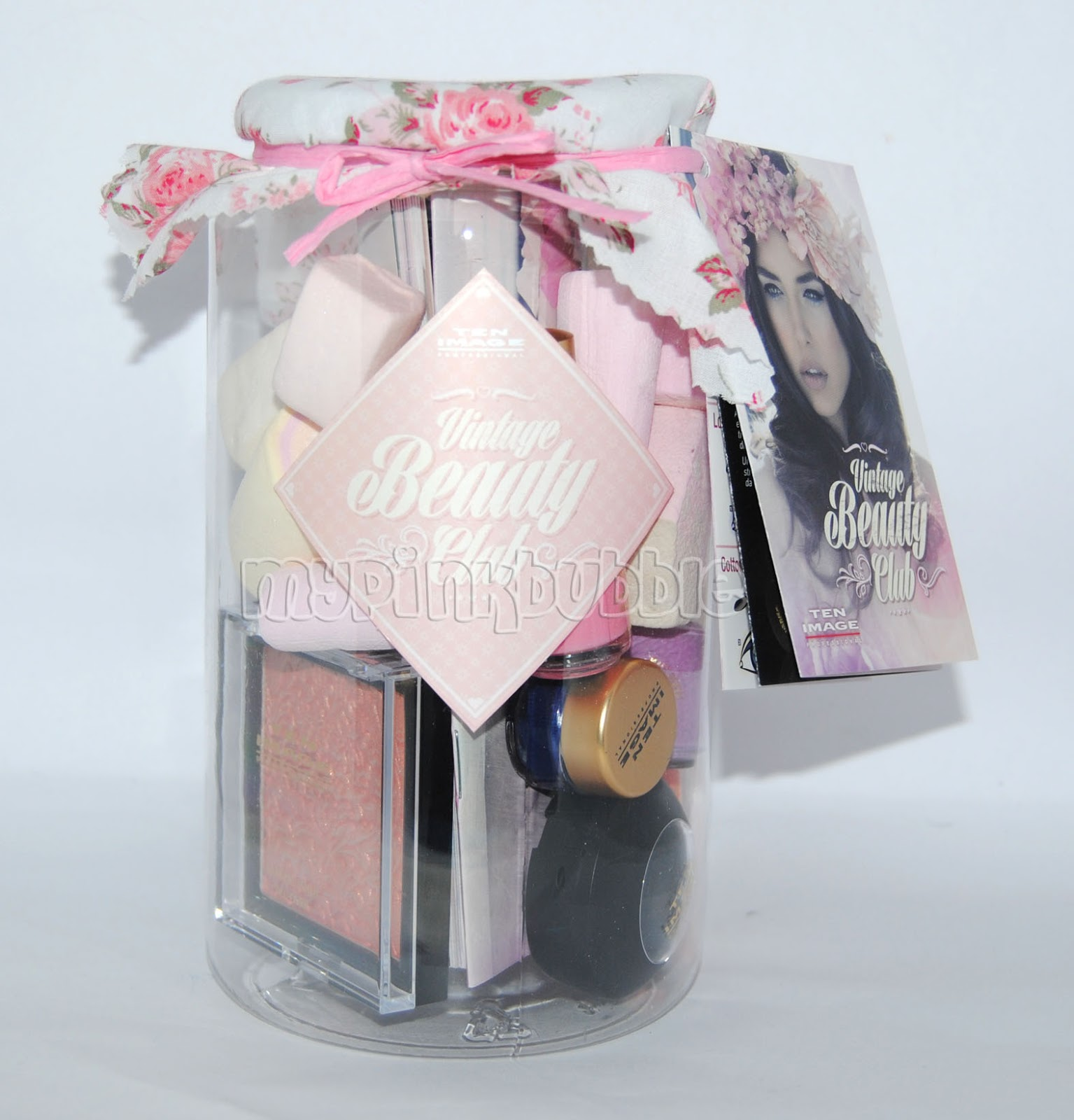 Ten image Vintage Beauty Club packaging