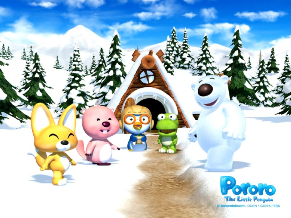 Cartoon pororo wallpaper image wallpaper collections view original size altavistaventures Choice Image