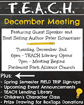 Next TEACH Meeting (click for more info)