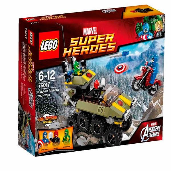 Set LEGO: Capitán América Vs. Hydra