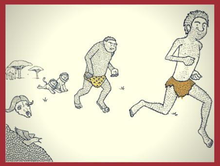 การเดิน ไม่ได้ทำให้สัตว์ชนิดหนึ่งมีรูปร่างใกล้เคียงมนุษย์ขึ้นมาได้