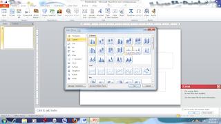 Cara memasukkan grafik dalam slide powerpoint