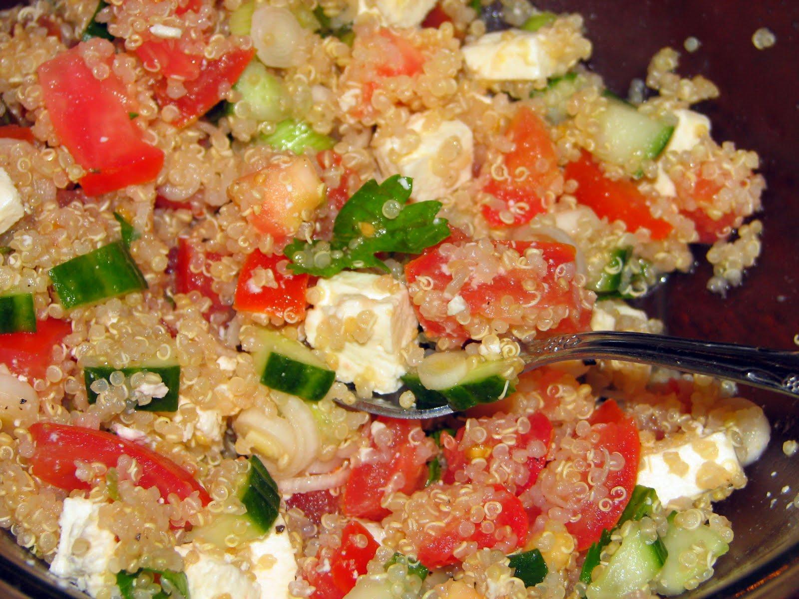 Feeding Four: Summer Quinoa Salad