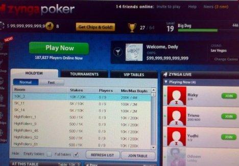 Poker palace on facebook cheats