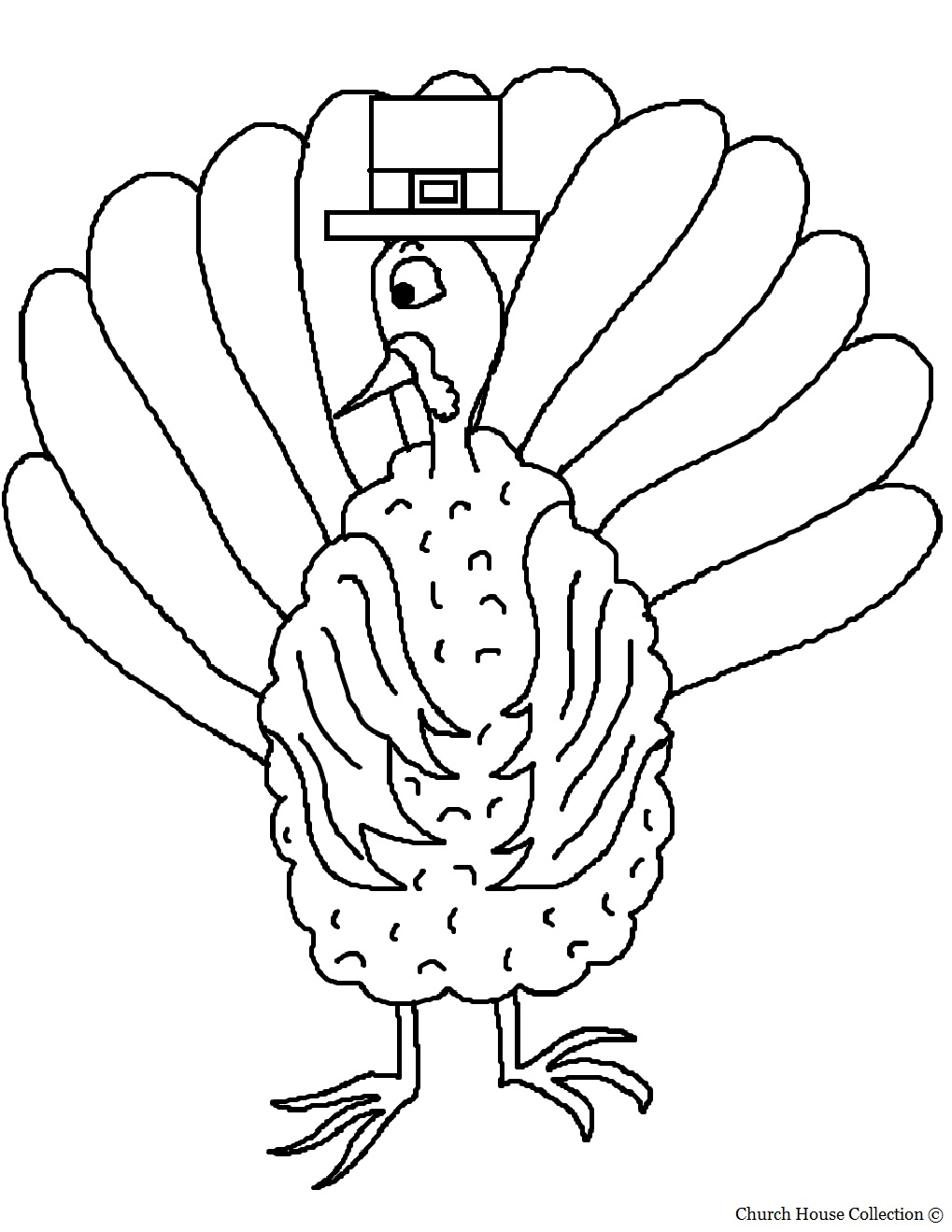 Thankful Coloring Pages