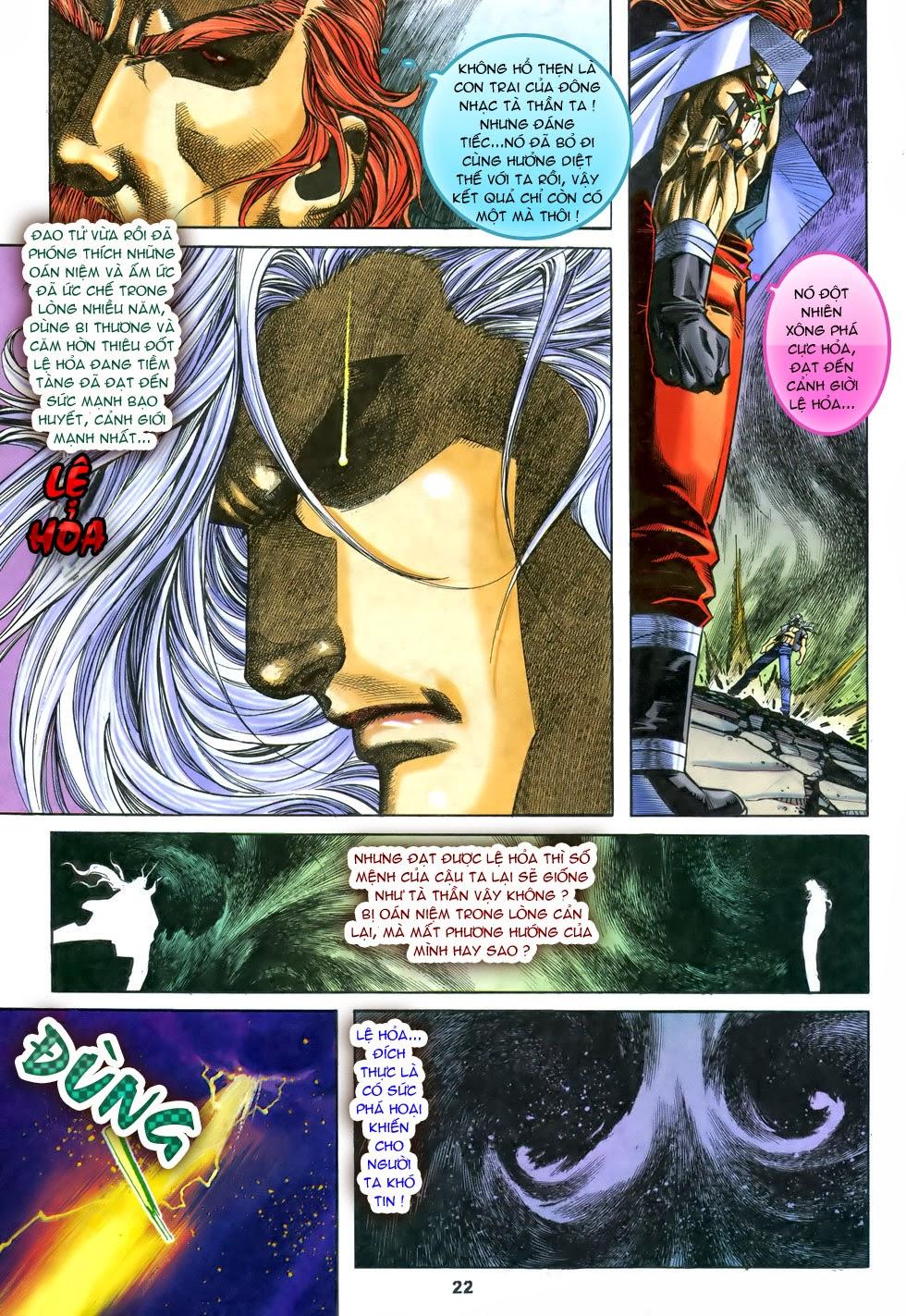 X Bạo Tộc chap 68 - Trang 23