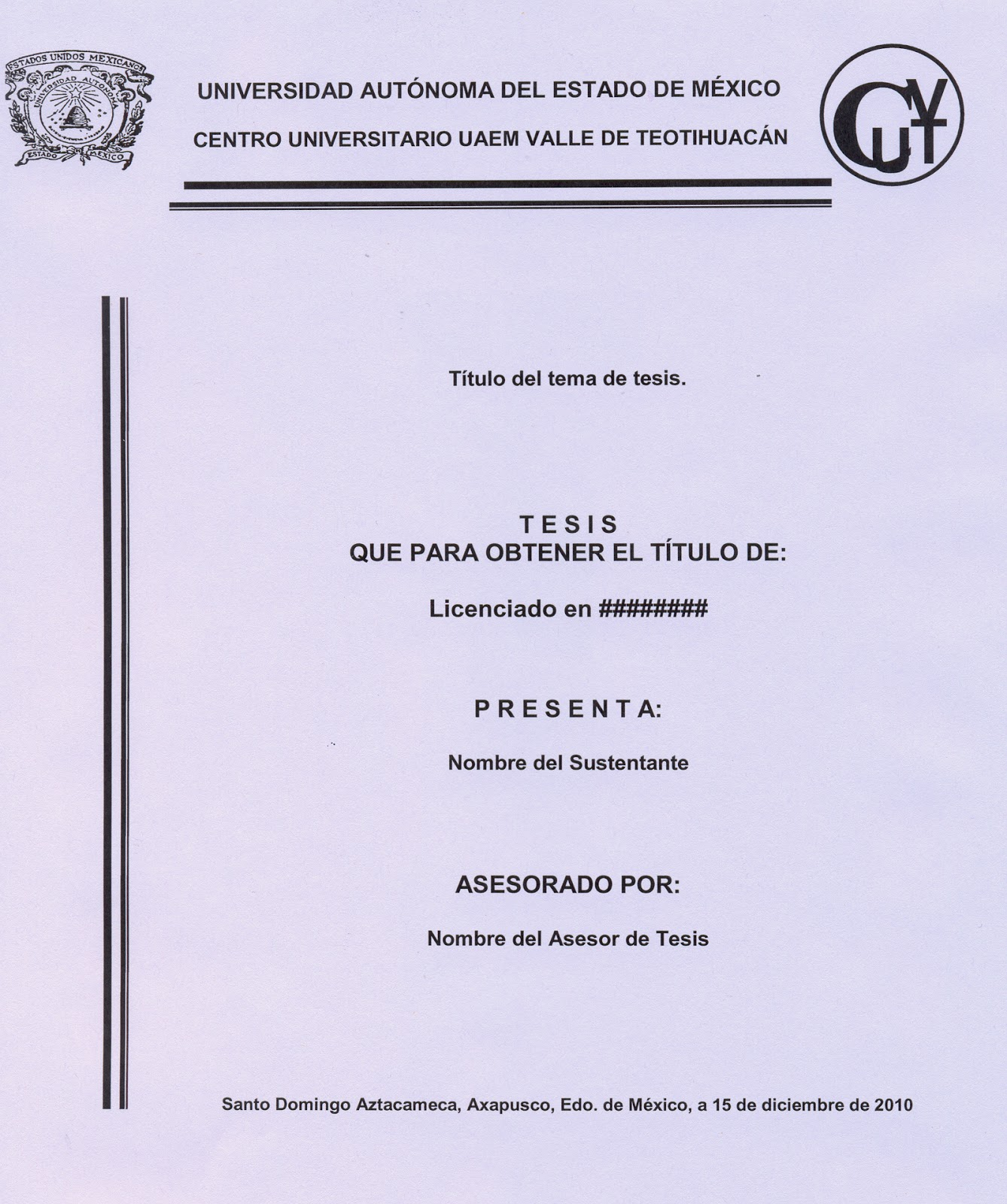 Excelente Formato De Página De Portada Colección de Imágenes ...