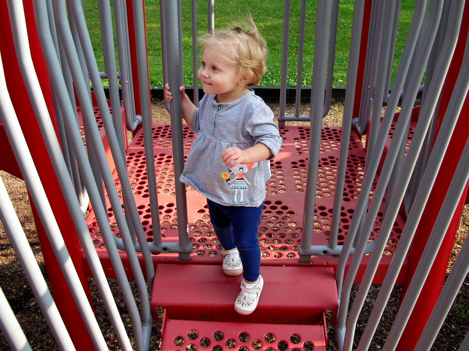 Stella Bella on the Playground