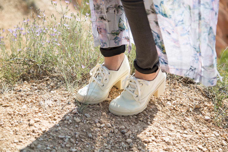 Palladium Boots Pampa Heels