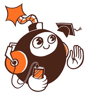 New year update - 'Media Bomb' logo