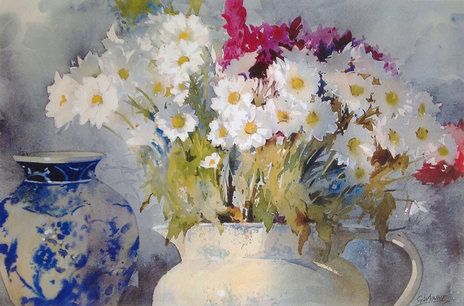 Fabuleux Dessin et peinture - vidéo 1170 : Le pot de fleurs à l'aquarelle  NS66