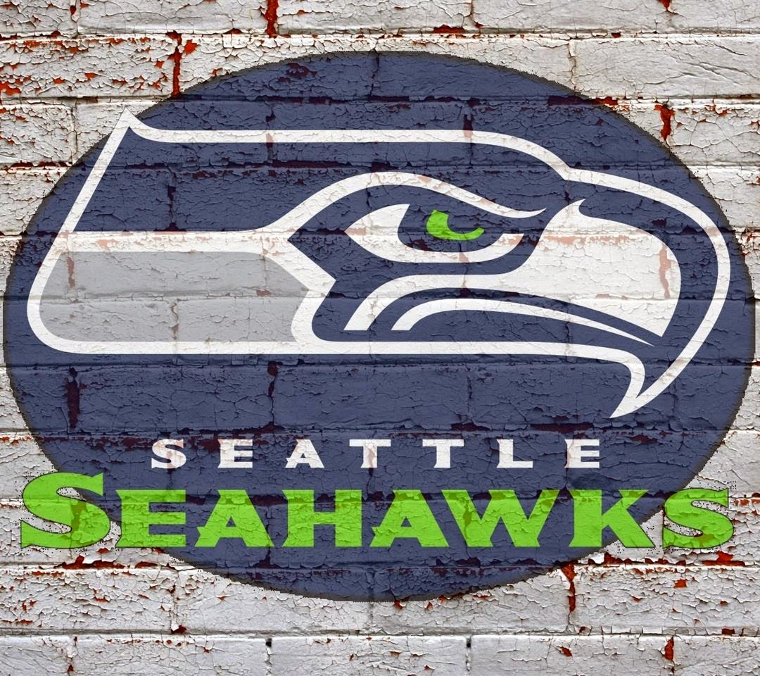 Seattle Seahawks Logo on wall