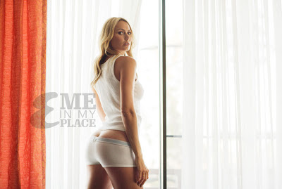Stacy Keibler Me In My Place photoshoot for Esquire Magazine