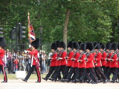 An Inside View of Changing of the Guard - copyright G.K. Jakobs 2012.