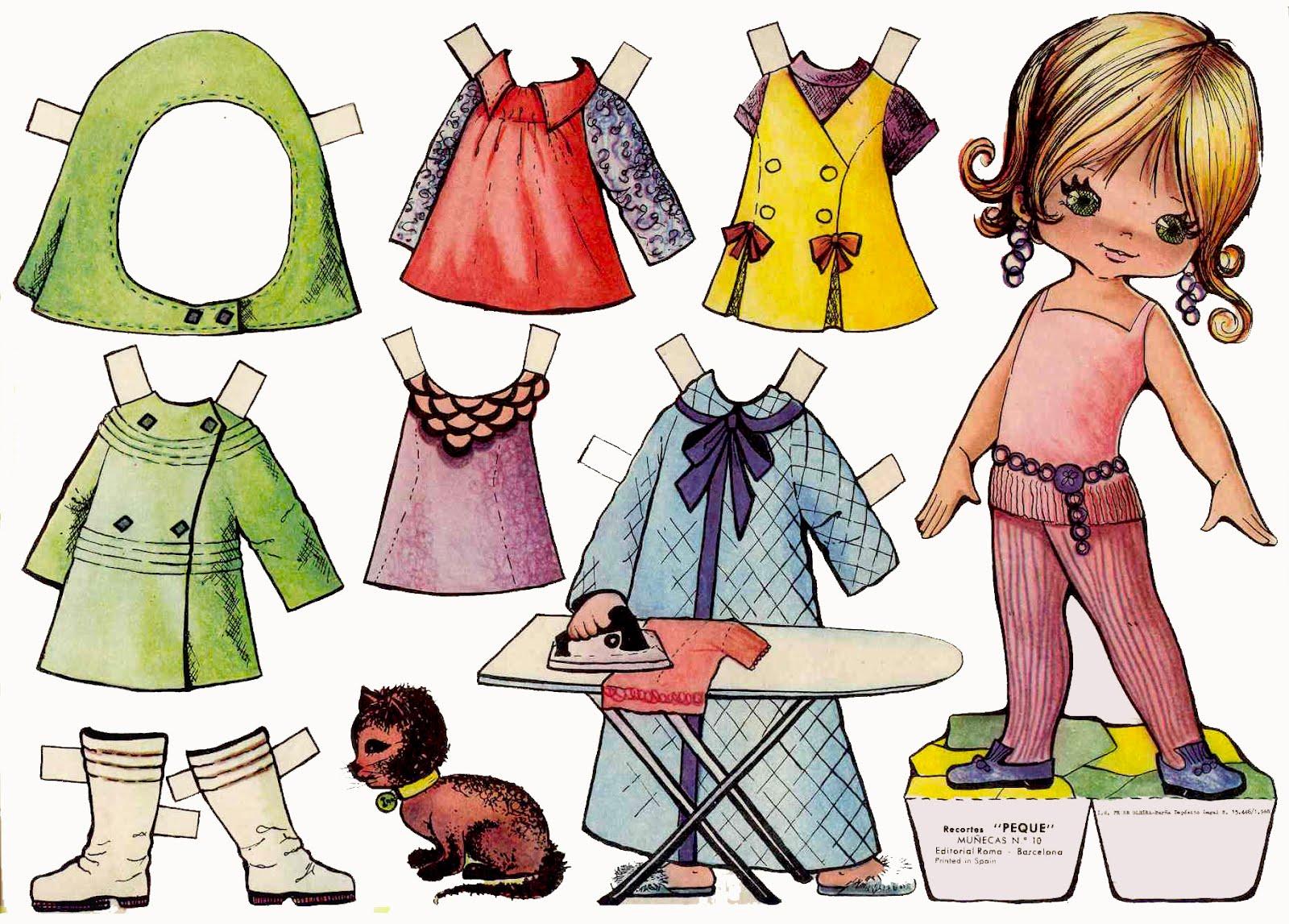 Как сделать бумажную куклу своими руками поэтапно