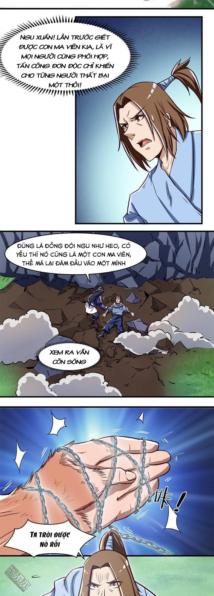 Lâm Phi Truyện - Chap 23
