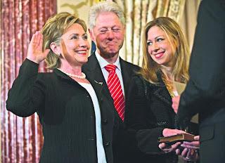 Chelsea Clinton, anak perempuan mantan Presiden Amerika Syarikat, Encik Bill Clinton Hillary Clinton