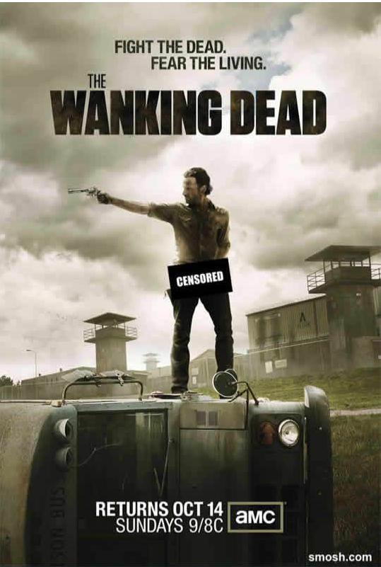The Wanking Dead