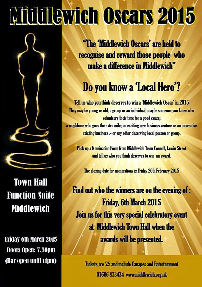 THE MIDDLEWICH OSCARS 2015