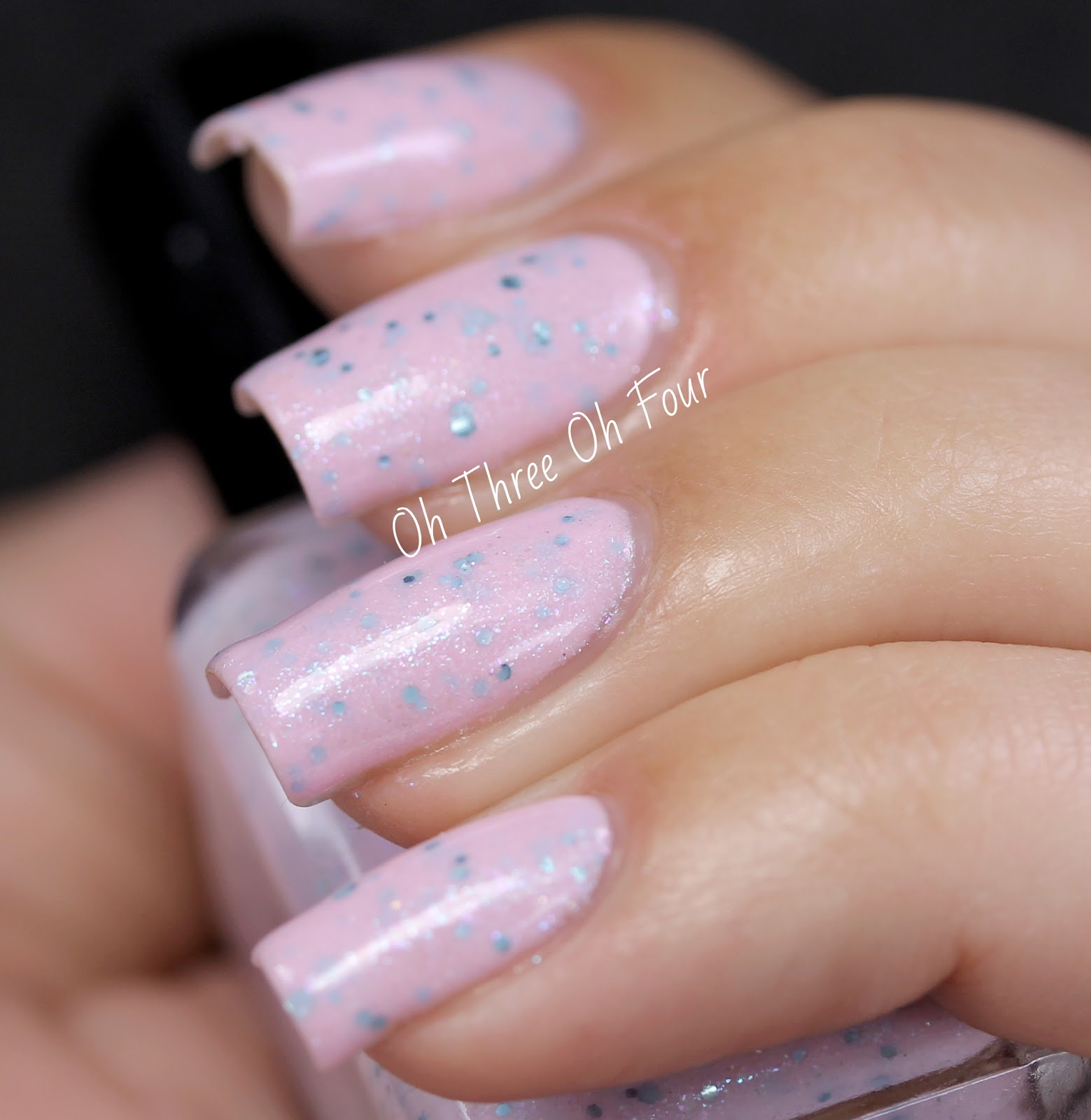 SuperChic Lacquer Tink Happy Thoughts Swatch