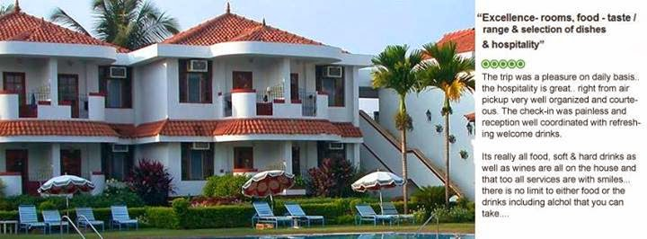 Holiday Beach Resorts in Goa