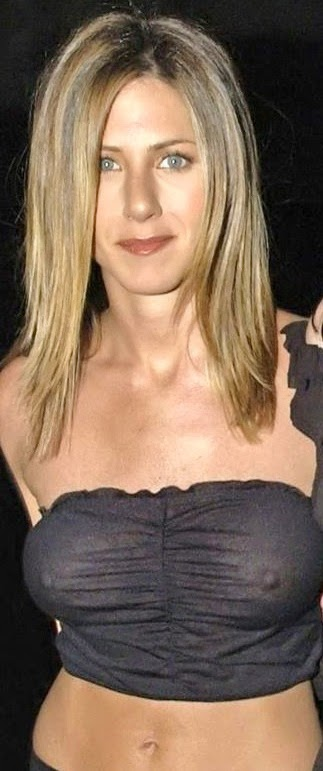 aniston through Jennifer tits see