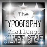 Second Place Typography Challenge
