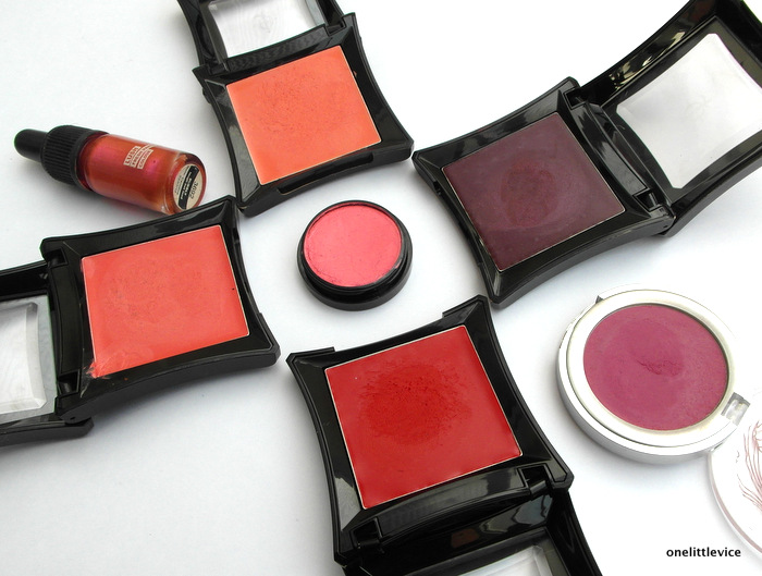 OneLittleVice Beauty Blog: mixing cream blushes