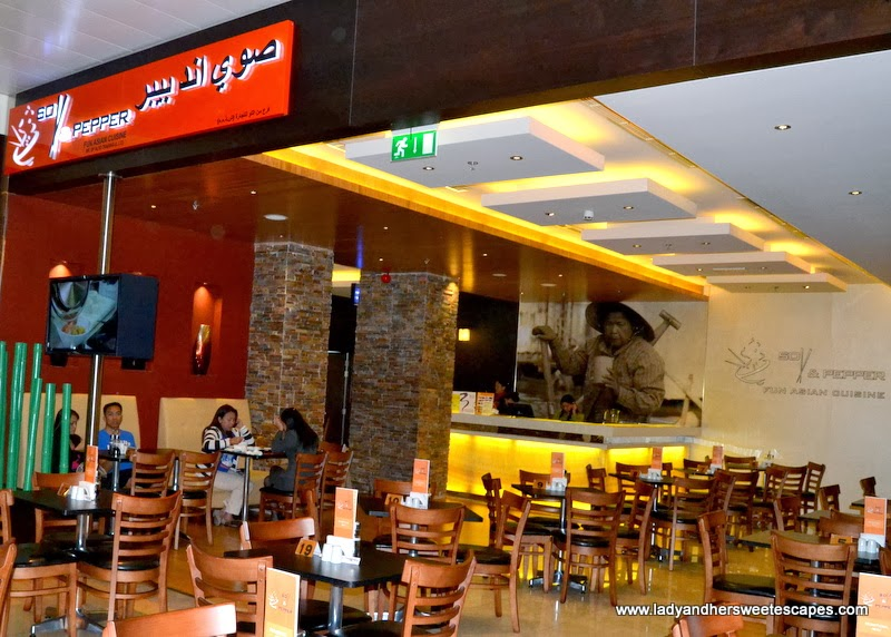 Soy and Pepper Asian Restaurant at Reef Mall Dubai