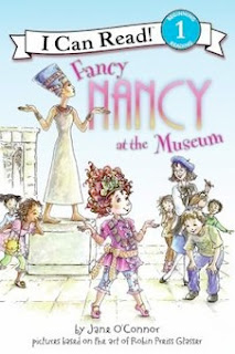 bookcover of FANCY NANCY at the Museum