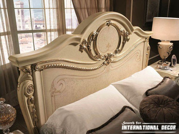 Italian bedroom, Italian bedroom furniture,classic bedroom,luxury headboard