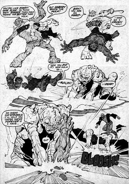 Rampaging Hulk #5, Jim Starlin, Alex Nino