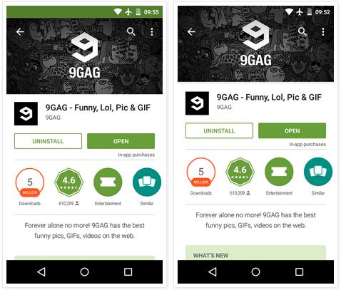 Google Play Store v5.4.10 Transparan Terbaru