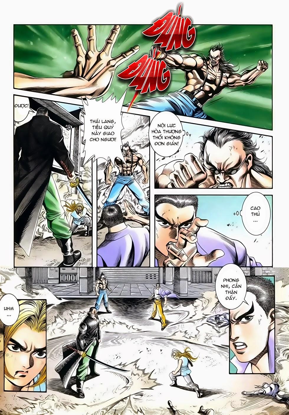 Long Hổ Phong Bạo chap 3 - Trang 5