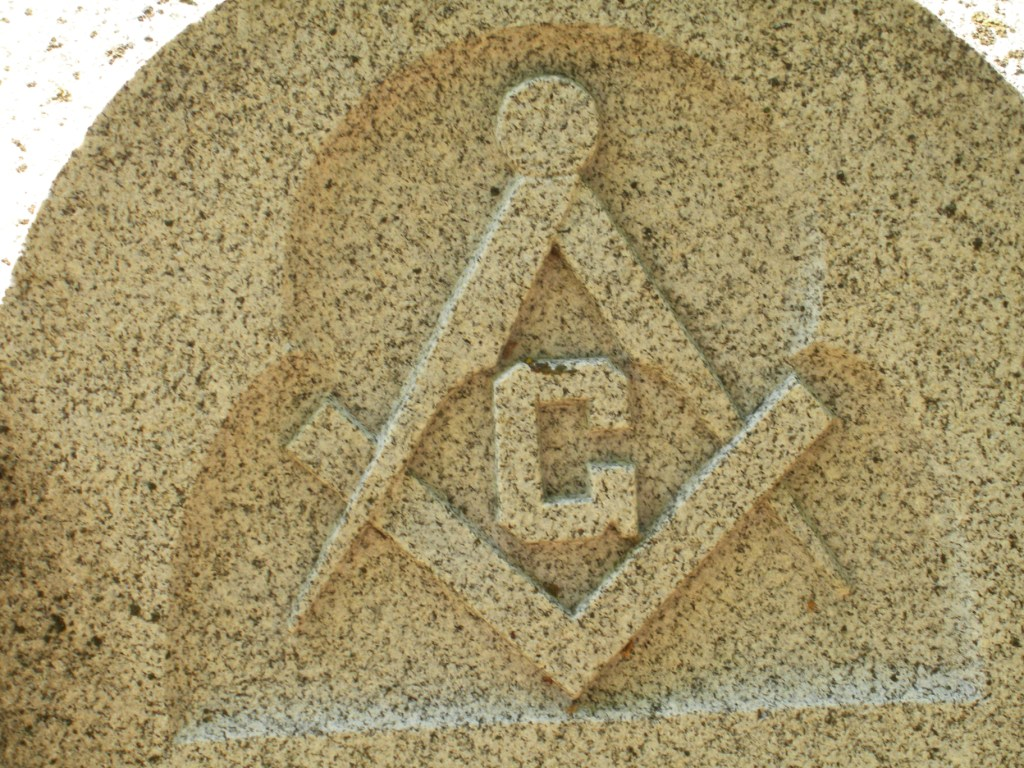 Engraved masons masons everywhere the most well know masonic symbol the square and the compass and the g that stands for possibly god and possibly geometry or both biocorpaavc
