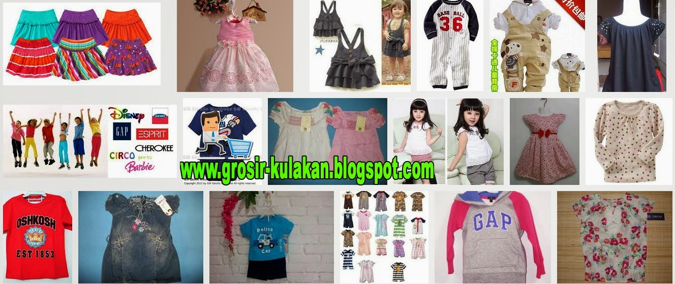 Supplier Baju Anak Branded Sisa Export