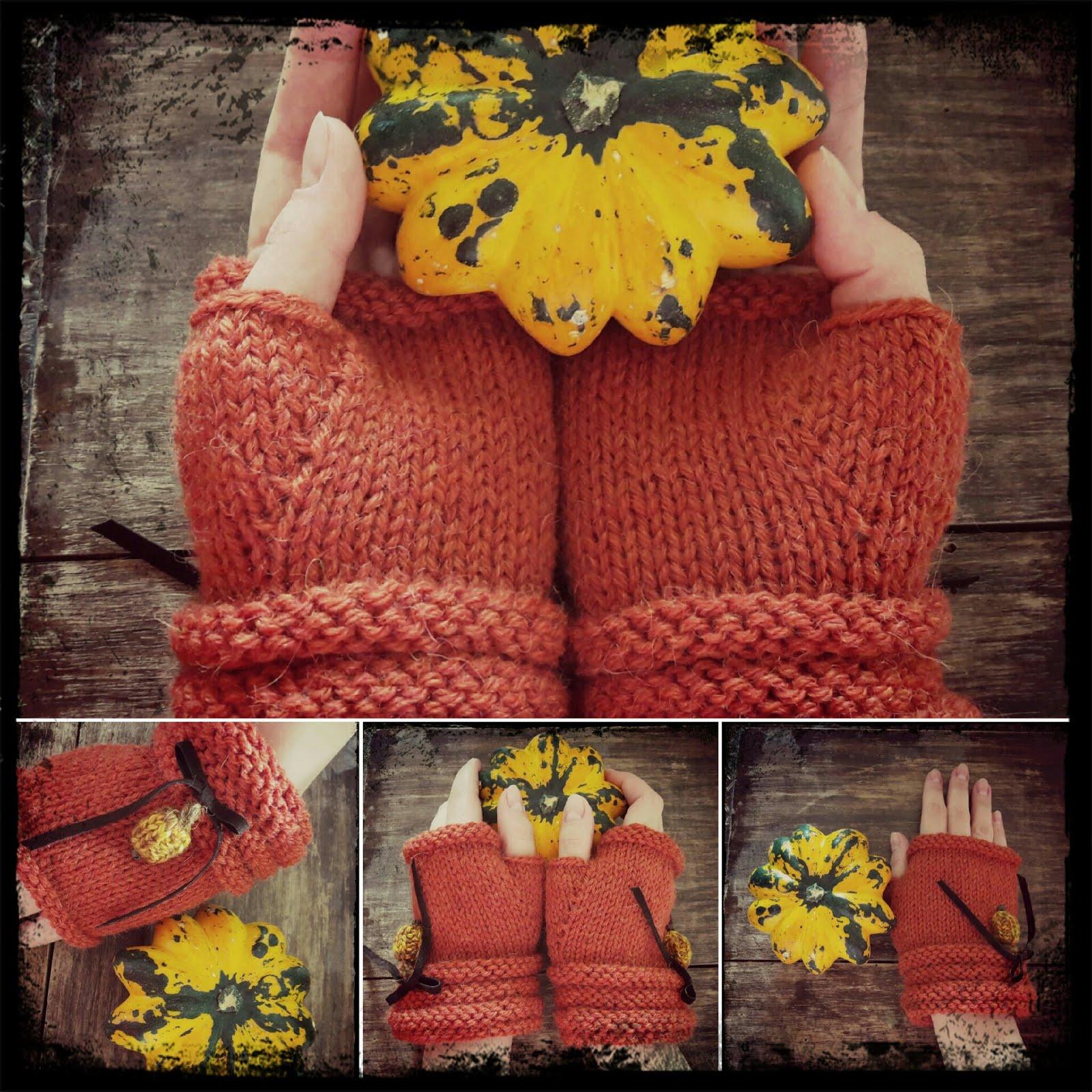 Pumpkins Mittens ♥