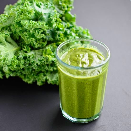 Picture of green banana smoothie