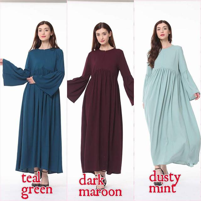 Plus Size Pun Ada. Labuh , Longgar Dan MEnawan Pelbagai Dress Dan Jubah Menawan HAti