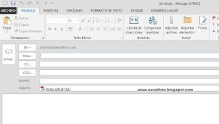 VBA: Adjuntar hoja activa como pdf al enviar un email desde Excel.