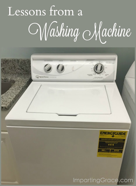 I never thought I would learn a valuable lesson from a washing machine, but I did. Here's what I learned.