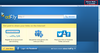Langkah Pertama Download di Adf.ly | ApKLoVeRz