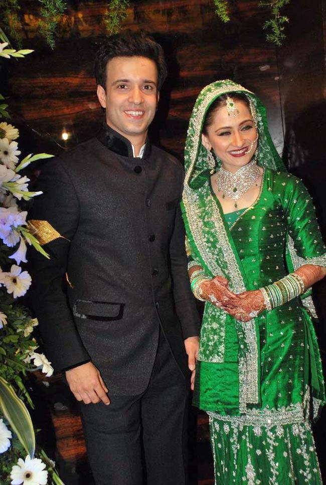 Aamir Sanjeeda wedding Images