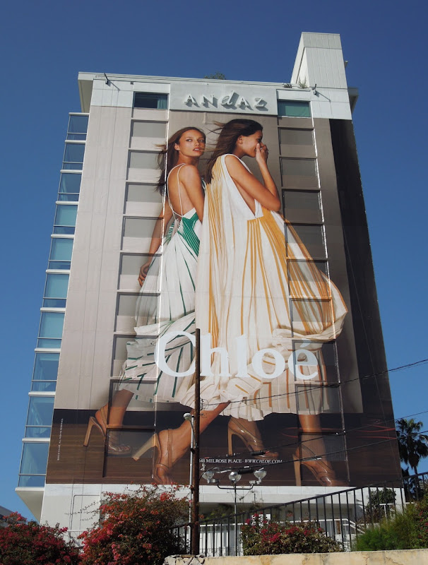 Chloe 2012 fashion billboard