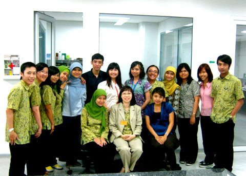Foto Bersama staff Research and Development Department