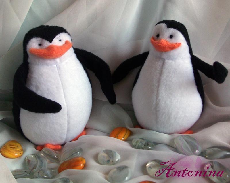 Игрушка пингвин своими руками фото